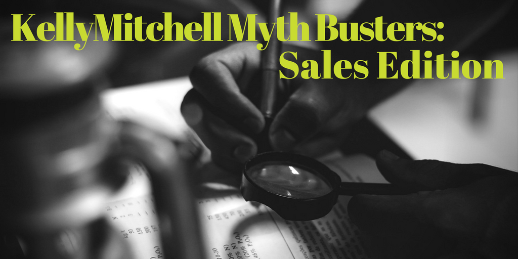 Myth Busters- Sales