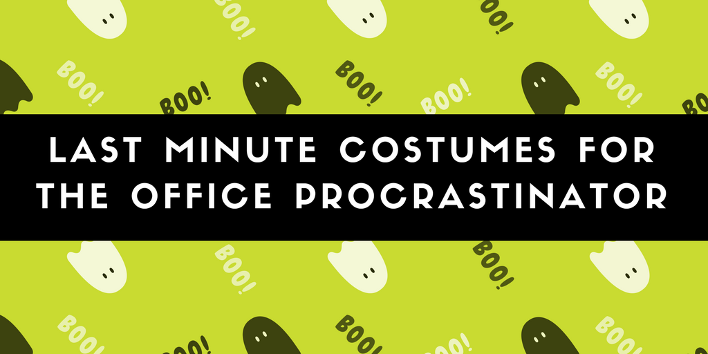 Last minute costumes for the office procrastinator